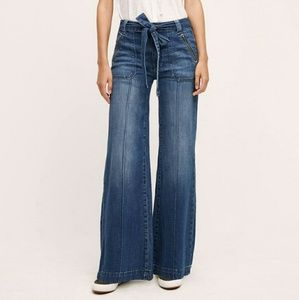 Pilcro palazzo wide leg jeans