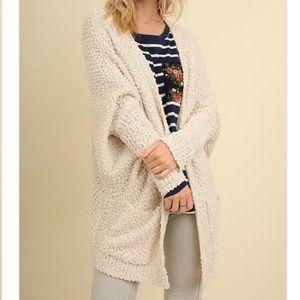 Sweaters - Last 1! Cozy cream cardigan
