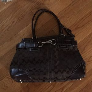 Coach large handbag