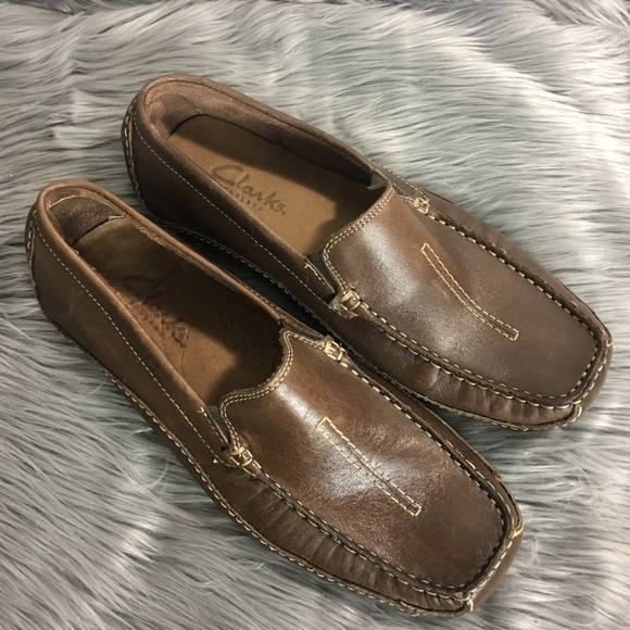 Clarks Mansell Mens 9 M Loafer Driving