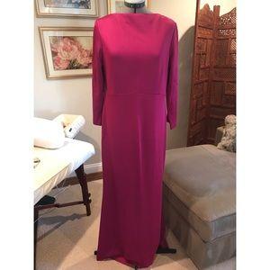St John evening gown