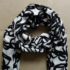 Kate Spade New York Literary Glasses print scarf