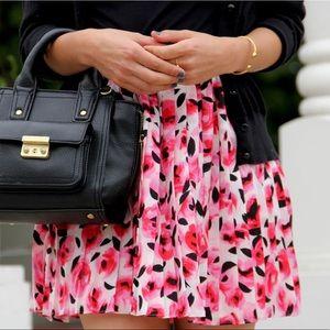 • kate spade ♠️ • pop rosebud mini pleated skirt