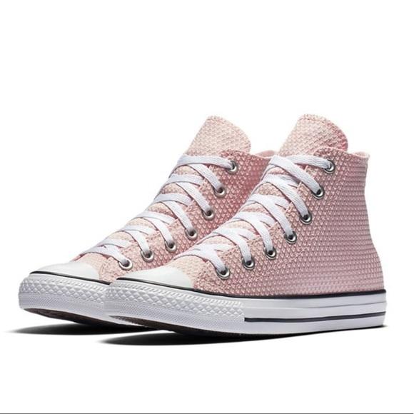 ed1fec67c3c9 Converse All Star Pink Snake Hi Top New In Box