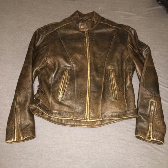 b1e3e4610 Evel Knievel leather motorcycle jacket
