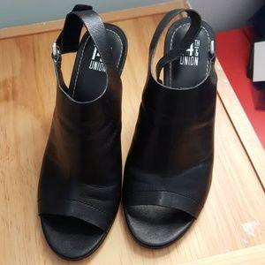 14th & Union Jessa-Lea open toe heels