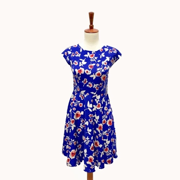 Modcloth Dresses & Skirts - Floral Cutout Dress