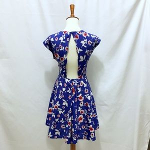 Modcloth Dresses - Floral Cutout Dress
