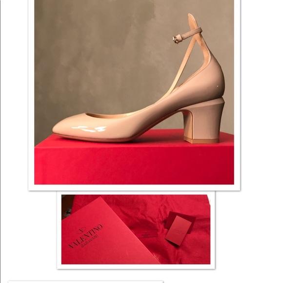 60e6705382 Valentino Shoes   Tango Patent Leather Anklewrap Pumps   Poshmark