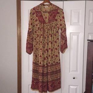 bab596ba04c0 Little Gypsy Co Dresses - Little Gypsy Co Luna Maxi in Vintage Rose