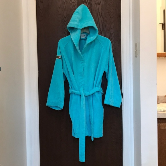92a23957b7 Lacoste Other - Lacoste Teal Short Terry Cloth bathrobe. One size
