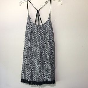 NWT Hurley Sable Dress Women's Small Black White S