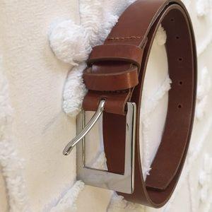 Banana Republic XS brown Italian leather belt