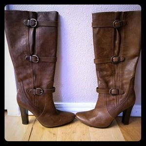 Guess by Marciano Brown leather boots