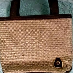 Etienne Aigner small Basket weave Purse