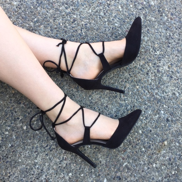 Strappy Pointed Heels | Poshmark