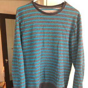 on the byas crewneck sweater
