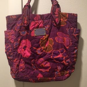 Marc by Marc Jacobs Quilted Floral Nylon Tote