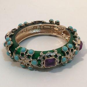 Kenneth Jay Lane Ultimate Bejeweled Bangle