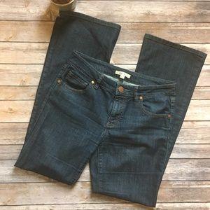 CAbi style #203R dark wash jeans