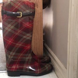 Lauren Ralph Lauren Rossayn II size 10 rain boots
