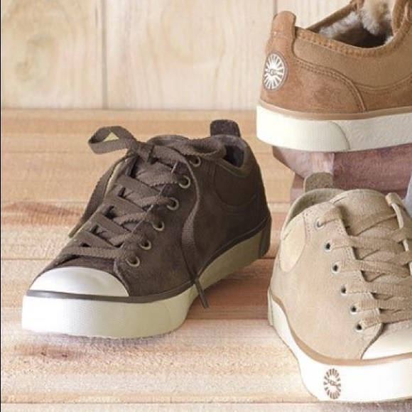 9c544ab6f30 UGG • 'Evera' Suede Sneakers 1888 - Chocolate