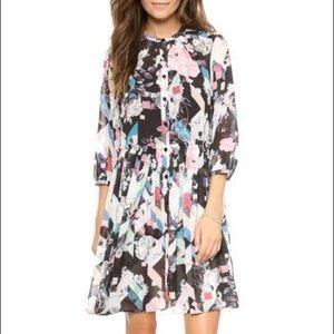 Rebecca Minkoff floral-print dress.