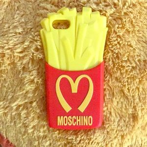 "Moschino ""McDonald's"" French Fry IPhone 5 case"