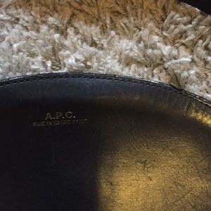 Bags - APC half moon bag, black