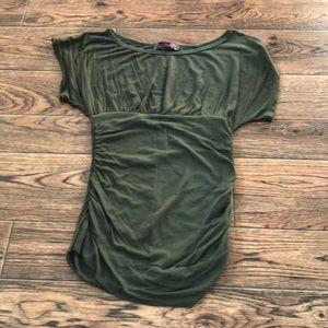 Slinky dress top