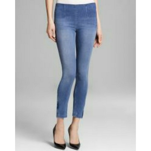 Womens Sold Design Lab 360 Skinny Pull-on Jeans Navy
