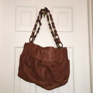 J.Crew Leather Bag-brand new