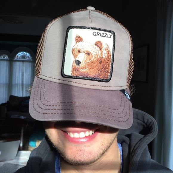 "dcf7eee2587 🐻HOST PICK🐻Goorin Brothers ""Grizz"" Bear hat NWT"