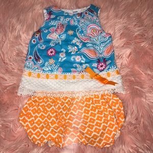 Rare Editions Detailed Bubble Shorts Outfit
