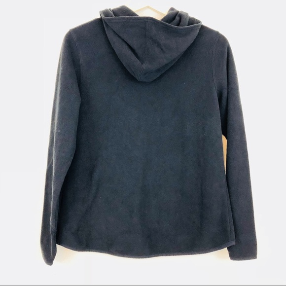 67% off Old Navy Sweaters - Old Navy Black Fleece Cowl-Neck ...