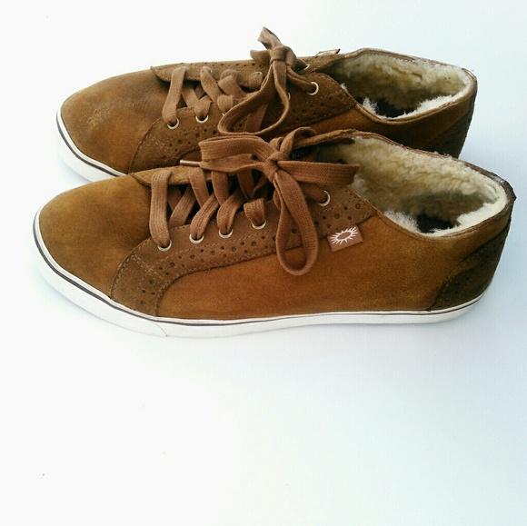 Men's Ugg Roxford TF Bomber Sneaker Chestnut 10