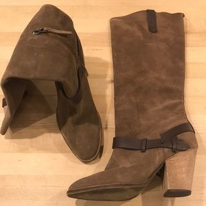 Great quality suede and leather Dolce Vita boots