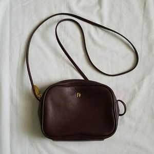 Etienne Signed Brown small purse
