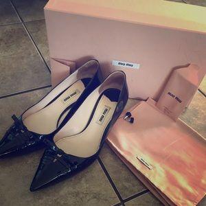 MIU MIU point heels