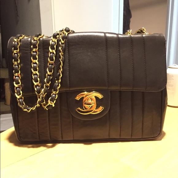 5656777f5f2b CHANEL Handbags - Vintage Chanel Mademoiselle Jumbo Flap Bag