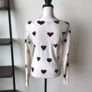 French Connection Sweaters - Heart Sweater