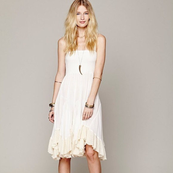 f8bdc09d85b1 Free People Dresses & Skirts - Free People Viscose Convertible Slip Dress  Skirt S