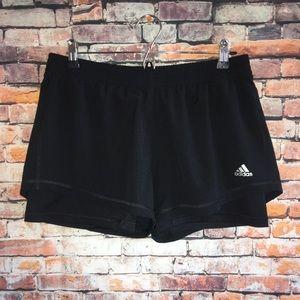 Adidas Black Climalite Shorts L