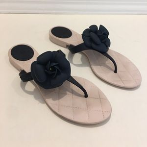 CHANEL jelly sandals, made in Italy, authentic