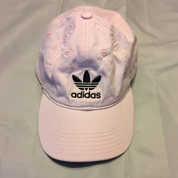 bec2c6731ff adidas Accessories - Adidas baby pink hat 🌸