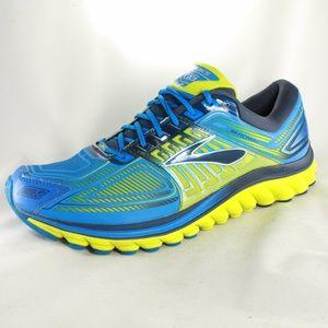 1aaa1e65901 Brooks Shoes - BROOKS GLYCERIN 13 Blue Lime Light Running Shoes