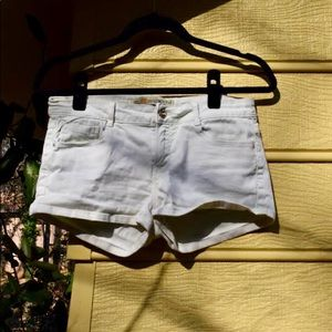Zara Mint Denim Shorts