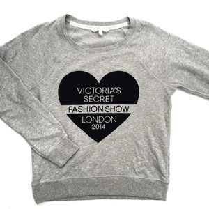 Victoria's Secret fashion show London sweatshirt