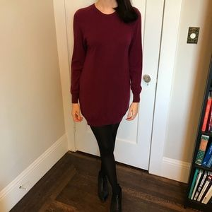 3.1 Philip Lim burgundy sweater dress