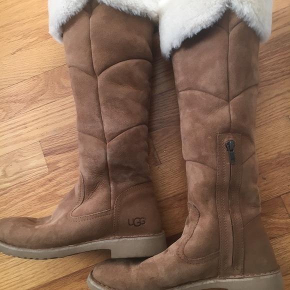 UGG Sibley boots Chestnut size 8